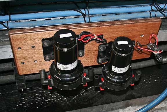 air con cooling pumps