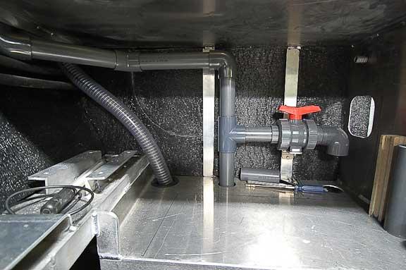damage control valve in engine room