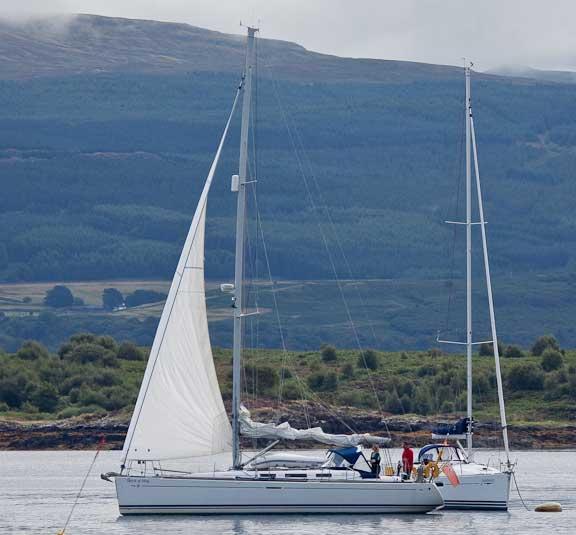 Sailing off the Anchor - Scotland