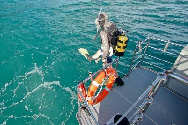 FPB64 Osprey first dive 126