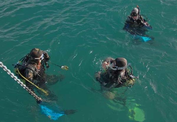 FPB64 Osprey first dive 127