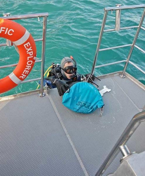 FPB64 Osprey first dive 129