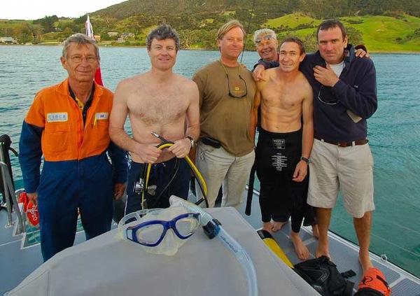 FPB64 Osprey first dive 132