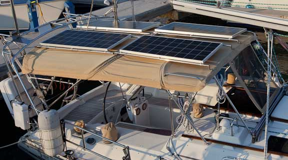 Setsail Fpb 187 Blog Archive 187 Mounting Solar Panels On
