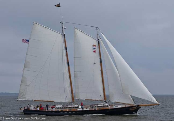 Chesapeake Schooner RAce 106