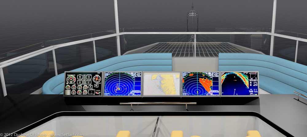 FPB 97 Matrix deck conn stn lkg fwd 1