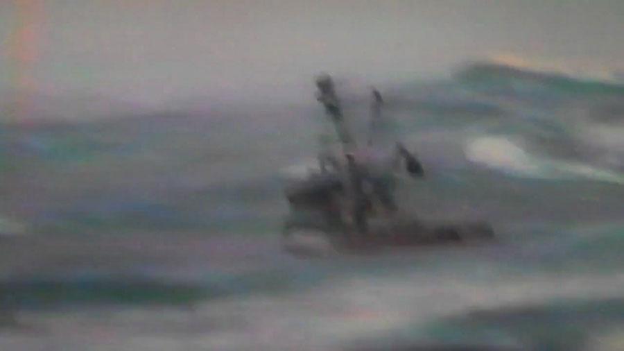Gulf AK Capsize 13