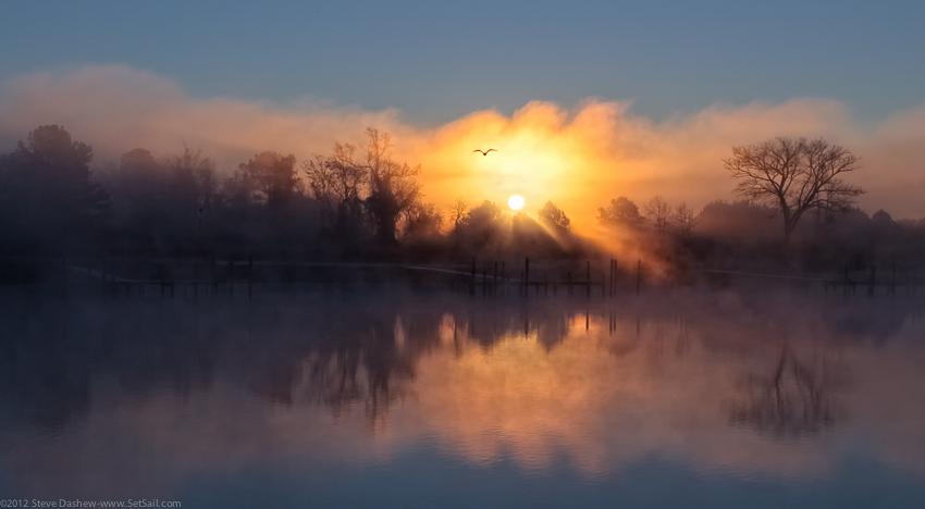 Sunrise Fog SeaGate 109b