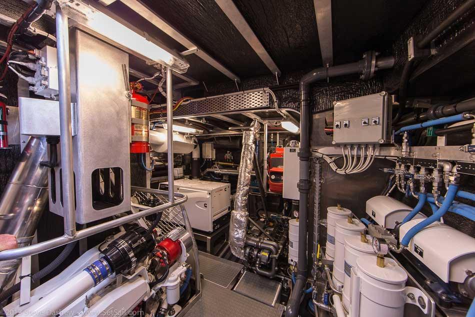 FPB 64 6 Gray Wolf Engine Room 101