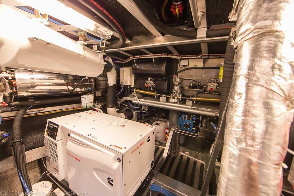 FPB 64 6 Gray Wolf Engine Room 110