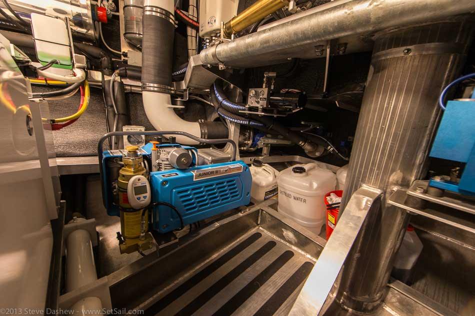 FPB 64 6 Gray Wolf Engine Room 111