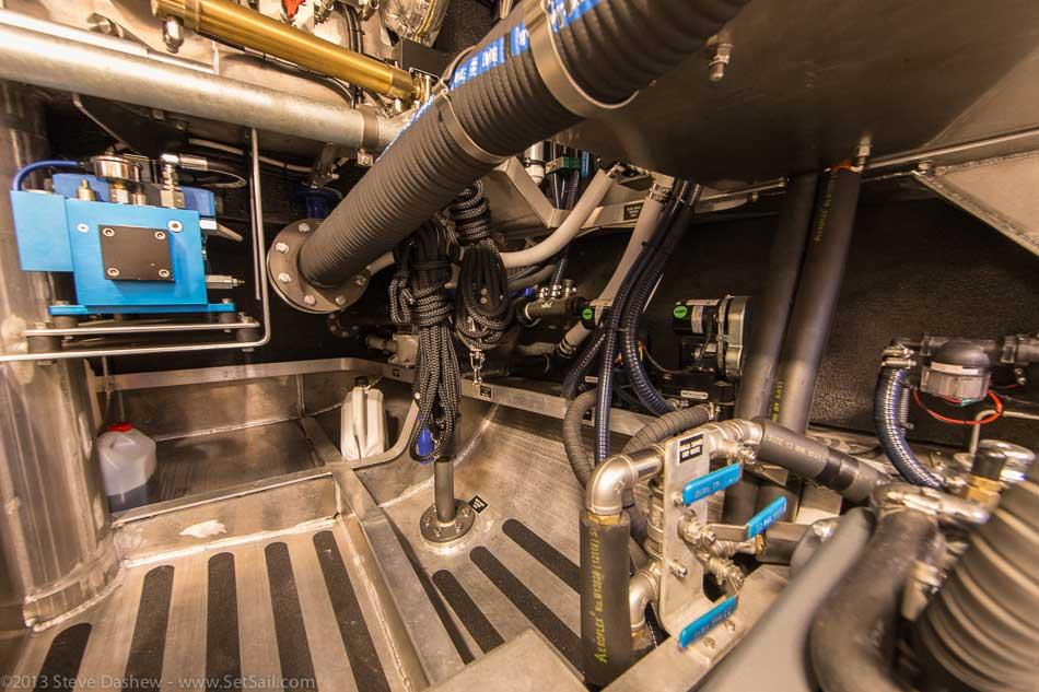 FPB 64 6 Gray Wolf Engine Room 112