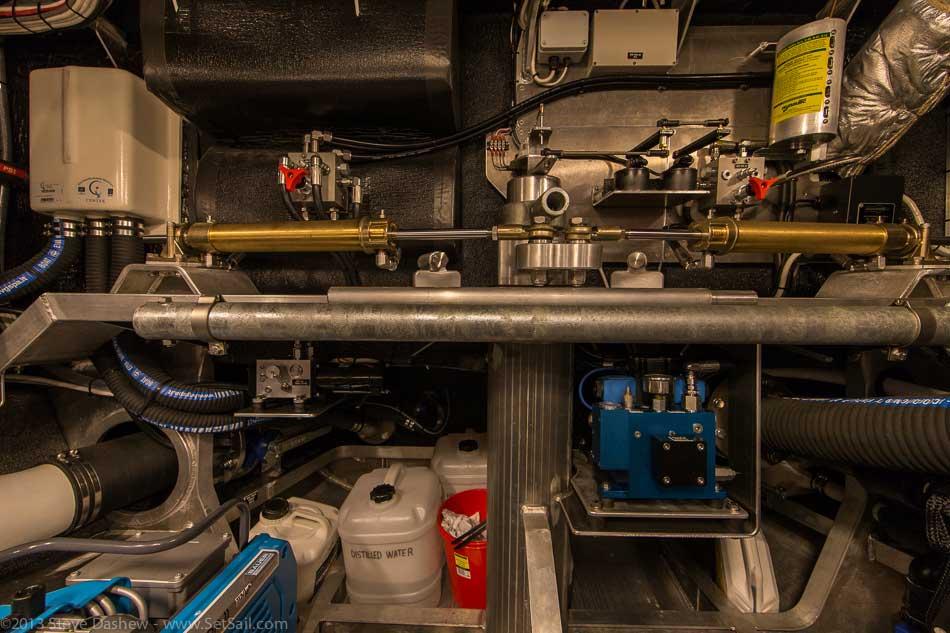 FPB 64 6 Gray Wolf Engine Room 114