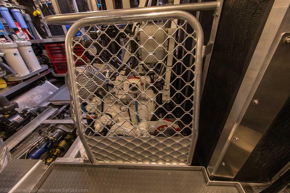 FPB 64 6 Gray Wolf Engine Room 119
