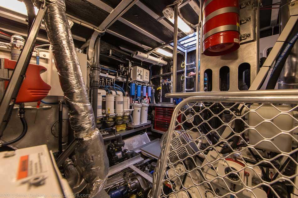 FPB 64 6 Gray Wolf Engine Room 120