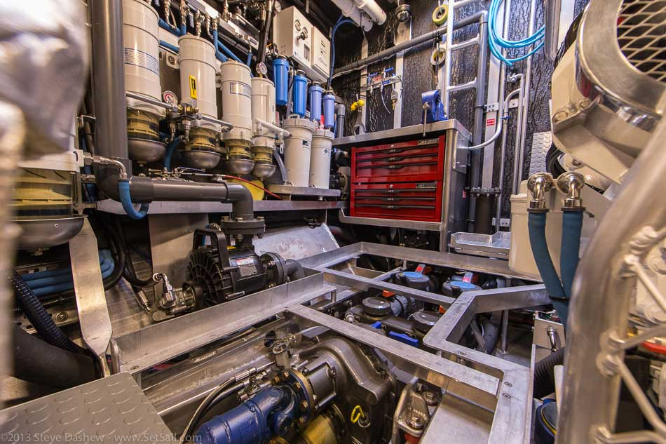 FPB 64 6 Gray Wolf Engine Room 121