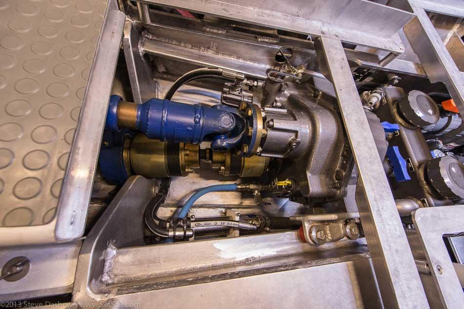 FPB 64 6 Gray Wolf Engine Room 122