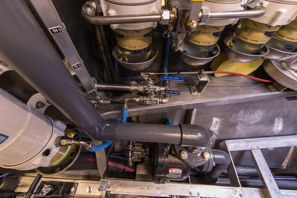 FPB 64 6 Gray Wolf Engine Room 126