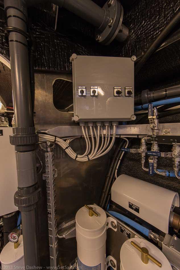 FPB 64 6 Gray Wolf Engine Room 127