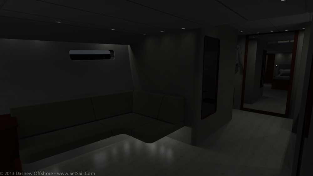 FPB 971 Forward lighting dark