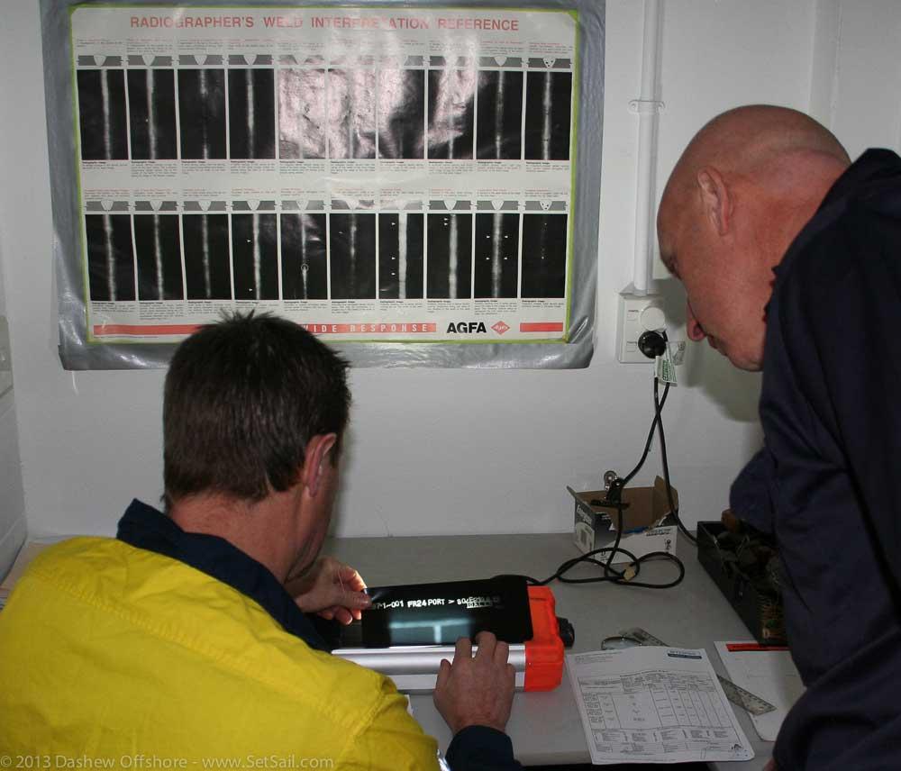 FPB 971 XRAY weld check 100