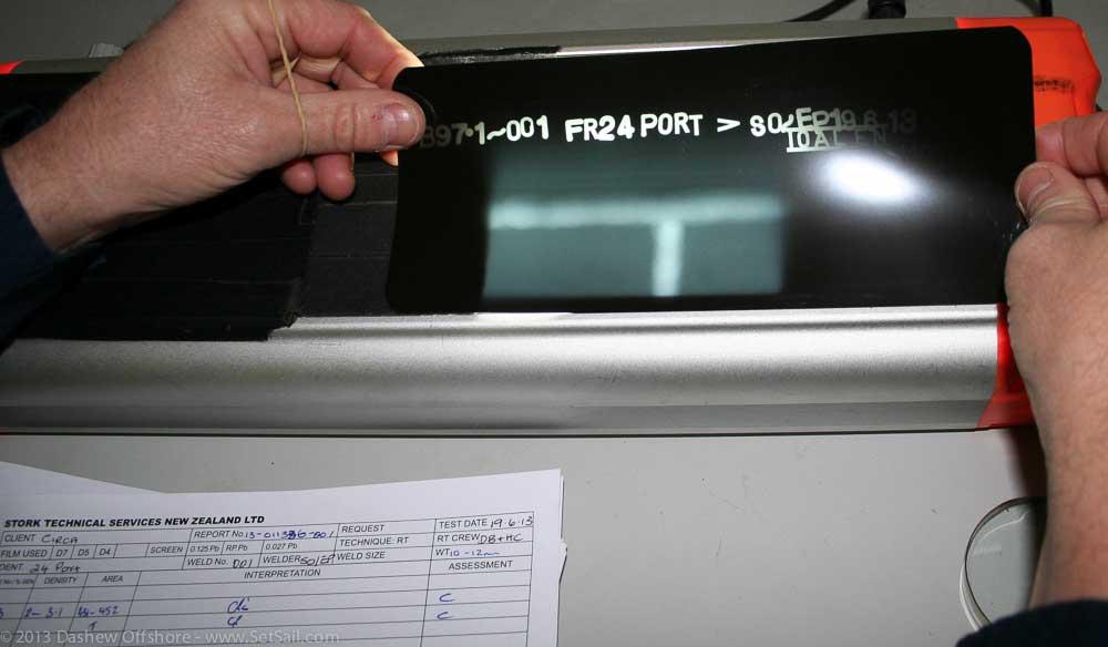 FPB 971 XRAY weld check 101