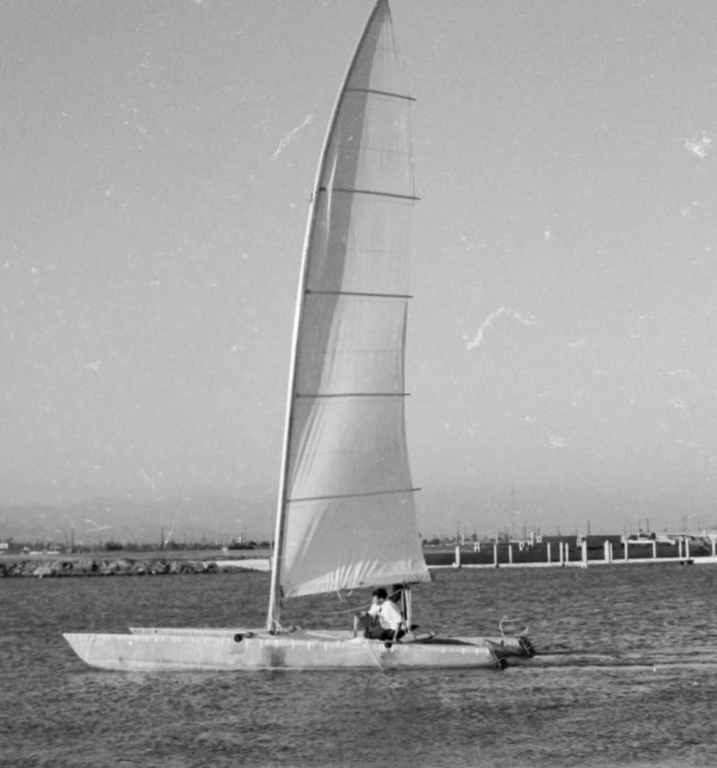Catamaran History So Cal 58 71 34