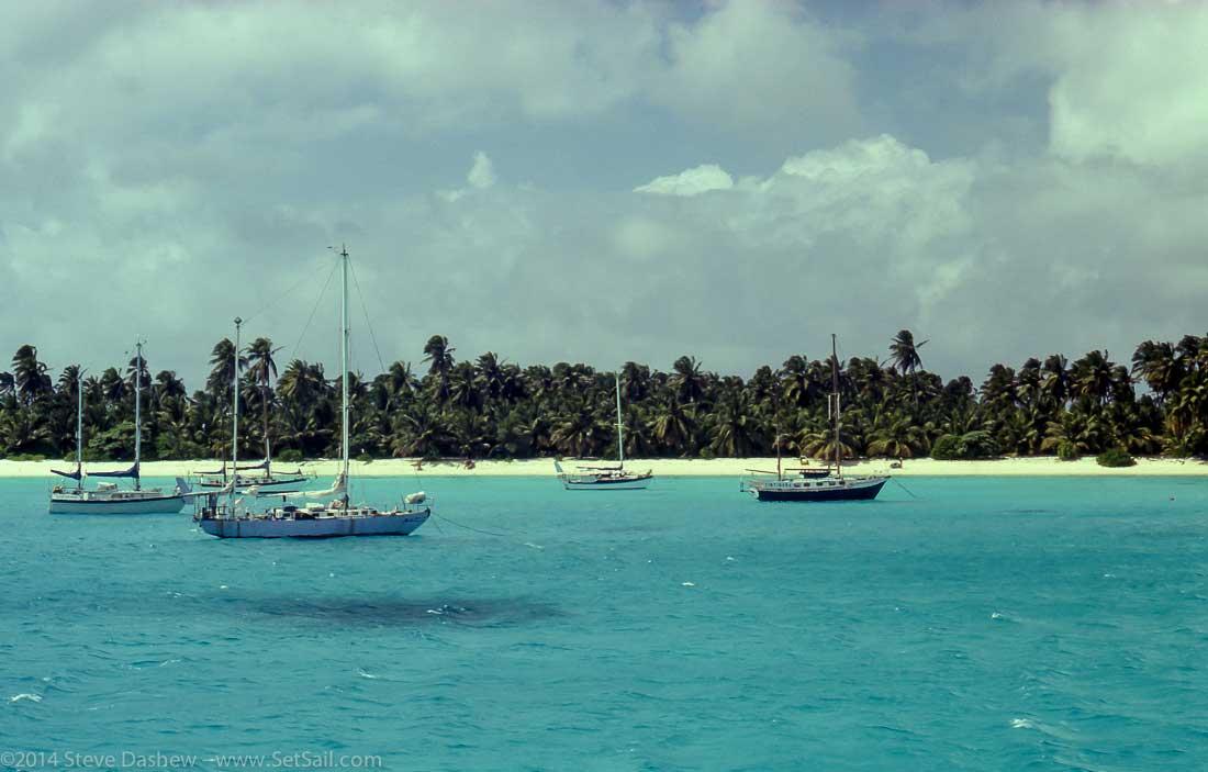 Cocos Keeling anchorage100