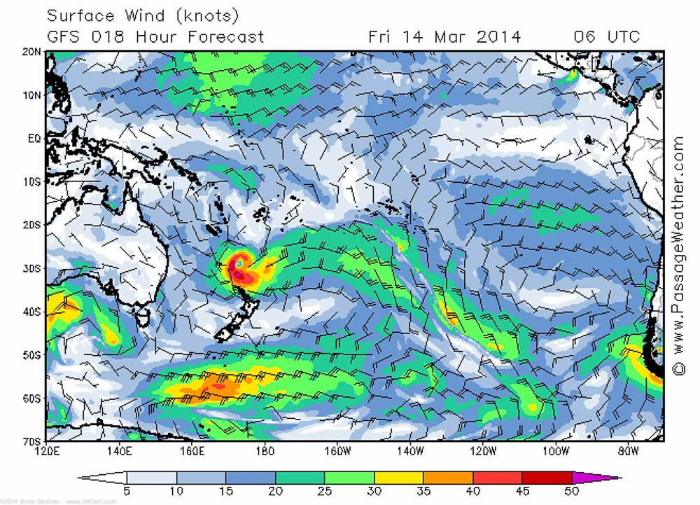 Friday March 14 2014 NZ FCast