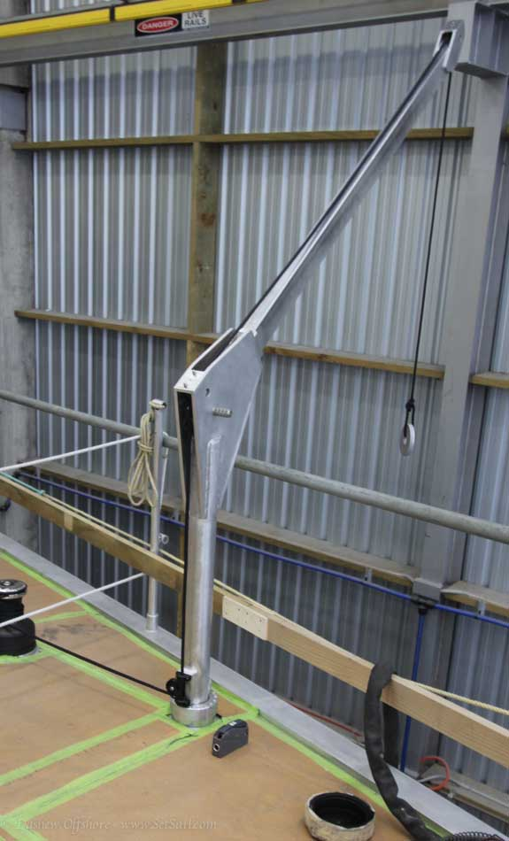 FWD Deck Crane 4