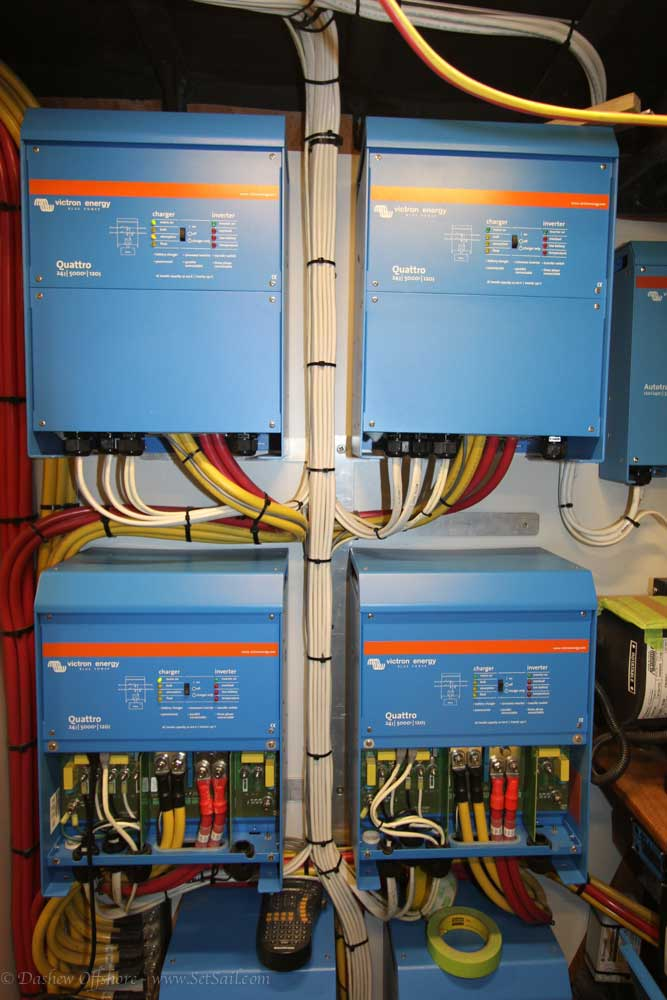 Victron Invertors Power On 3